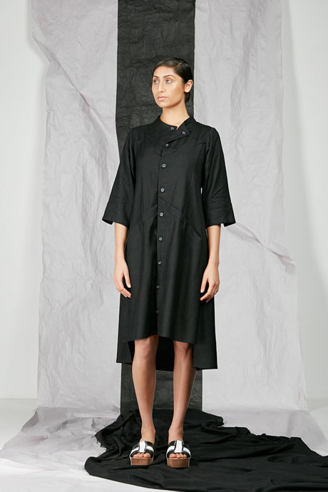 Women's Unisex Italian Viscose Shirt Dress