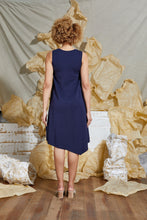 Load image into Gallery viewer, Knit Slip Dress Navy