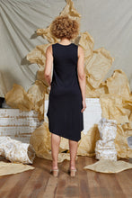 Load image into Gallery viewer, S/S 20 CALLA KNIT DRESS - OBSIDIAN