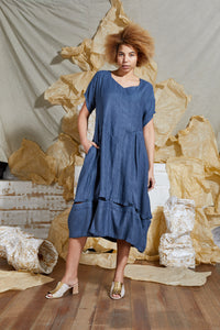 Indigo Bamboo Dress