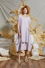 Load image into Gallery viewer, S/S 20 CERISE CONVERTIBLE DRESS - ROSE SAND