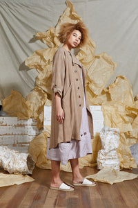 Unisex Soft Tailored Trench