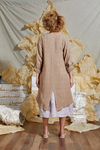 Ethical Artisan Linen Trench
