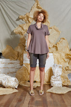 Load image into Gallery viewer, S/S 20 TAHLIA FLARE TOP - ROSE TAUPE