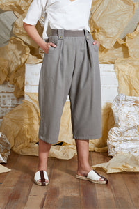 S/S 20 TAHLO WIDE LEG PANT - SAND