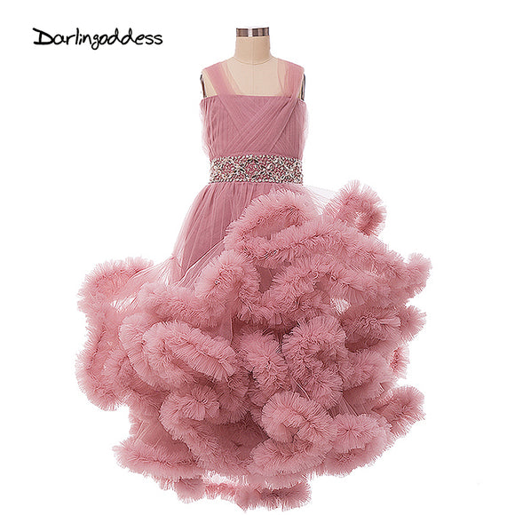 Cloud Flower Girl's Dress