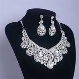Crystal Bridal Jewelry Sets
