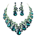 1 Women party Crystal jewelry sets