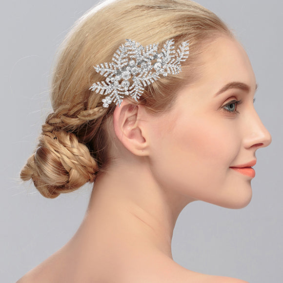 Dainty Leaves Hair Comb Bridal Party Gifts