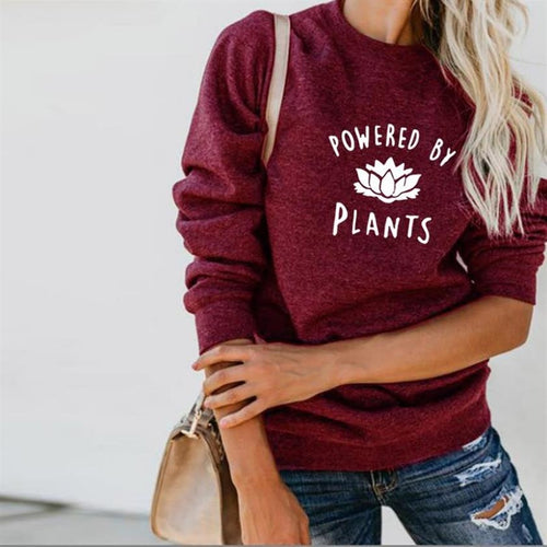 Powered By Plants Sweatshirt, Jumper