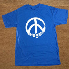 Vegan Peace Symbol T-Shirt