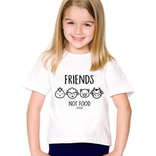 Children T-Shirts, Kids Go Vegan Tees