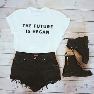 The Future is Vegan Tee T Shirt