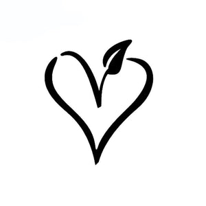 VEGAN Heart Custom Vinyl Car-Styling Decal