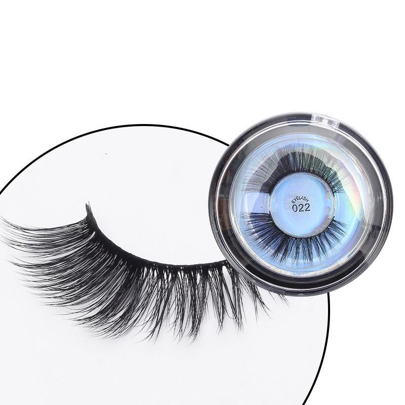 Vegan Cruelty-Free Silk, Long, Faux Mink Lashes