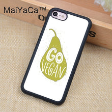 Vegan Food Quotes Phone Cases For iPhone