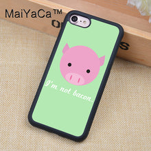 Vegan Quotes Soft Rubber iPhone Cases