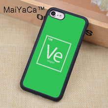Vegan Cell Phone Case for Apple iPhone
