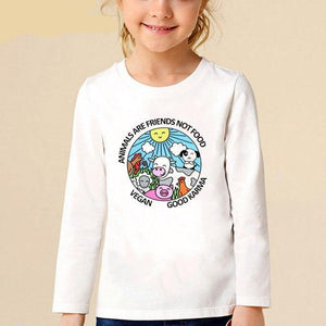 Children's Vegan Slogan T-Shirts