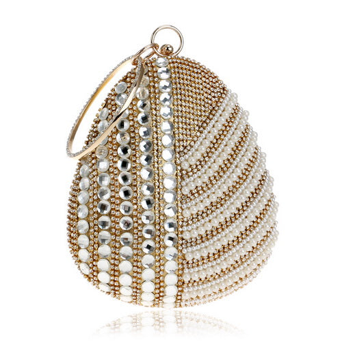 Goddess Pearl Clutch Bag