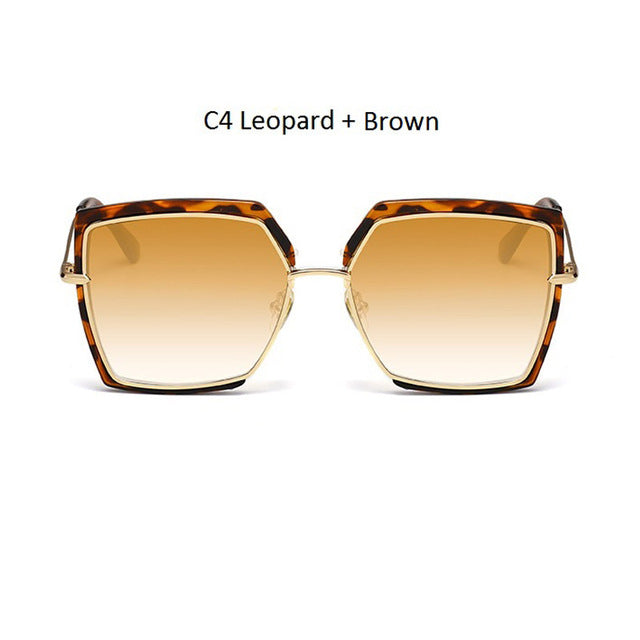 Cat Eye Mirror Shades