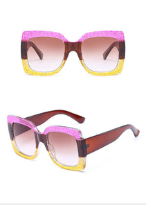 Square Glam Sunglasses