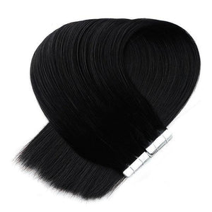 100% Human Remy Tape-In Extensions Double Drawn 40pcs/100g 17 Colors