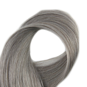"100% Remy Human Hair Tape-In 20/pc 50G Silver Only 16""-24"""