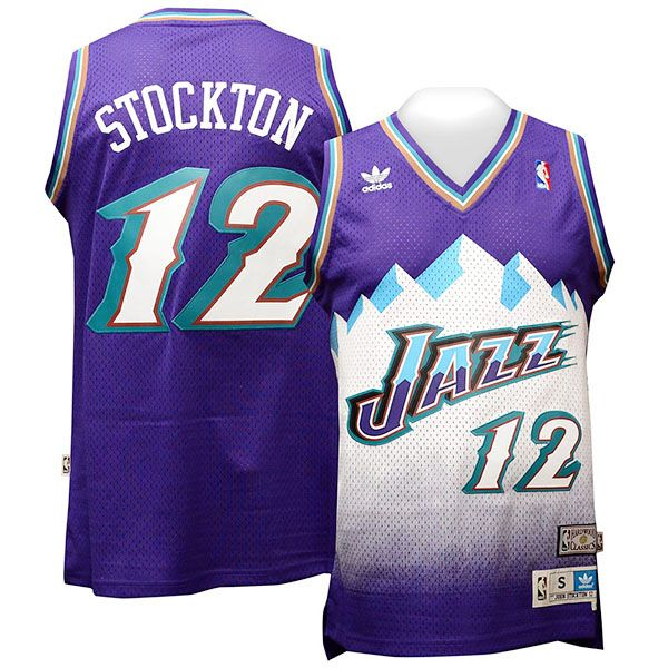 John Stockton Utah Jazz Throwback Jersey 207aada6c