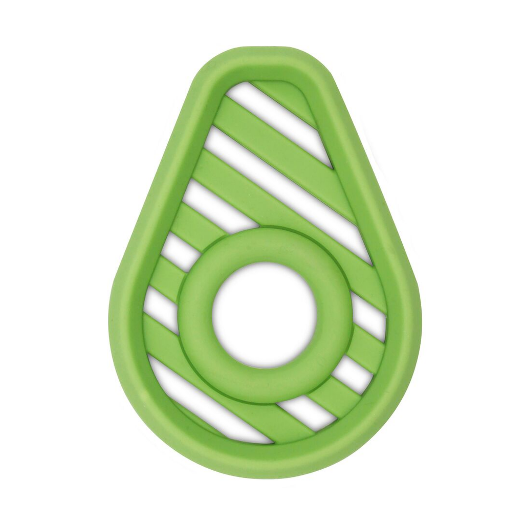 Itzy Ritzy Silicone Teether - Avocado