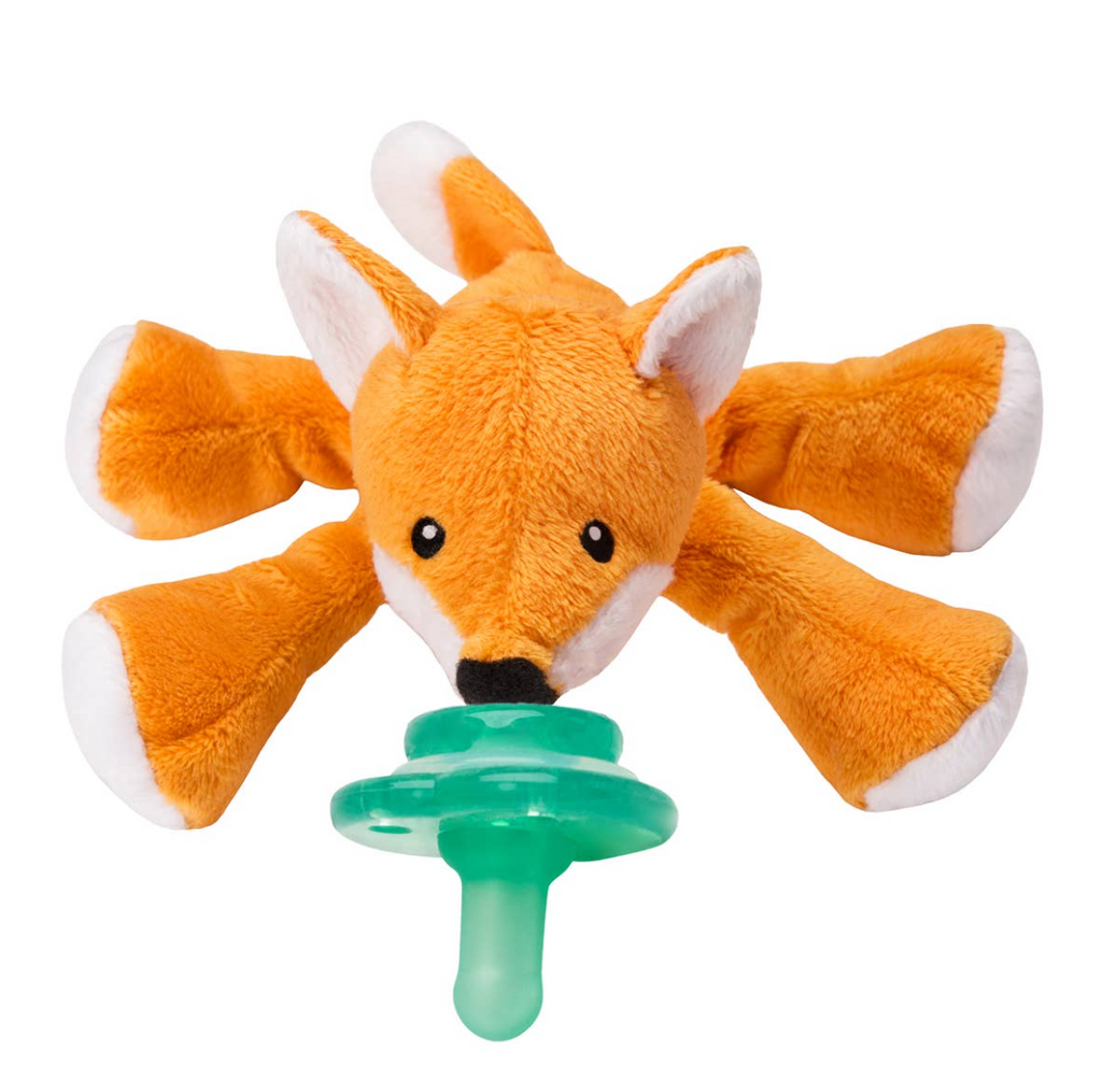 Nookums Paci-Plushie - Freckles Fox