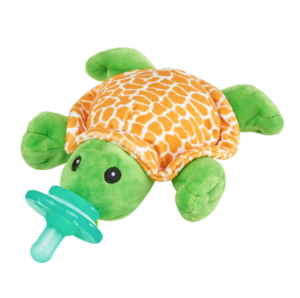 Nookums Paci-Plushie - Tickles Turtle