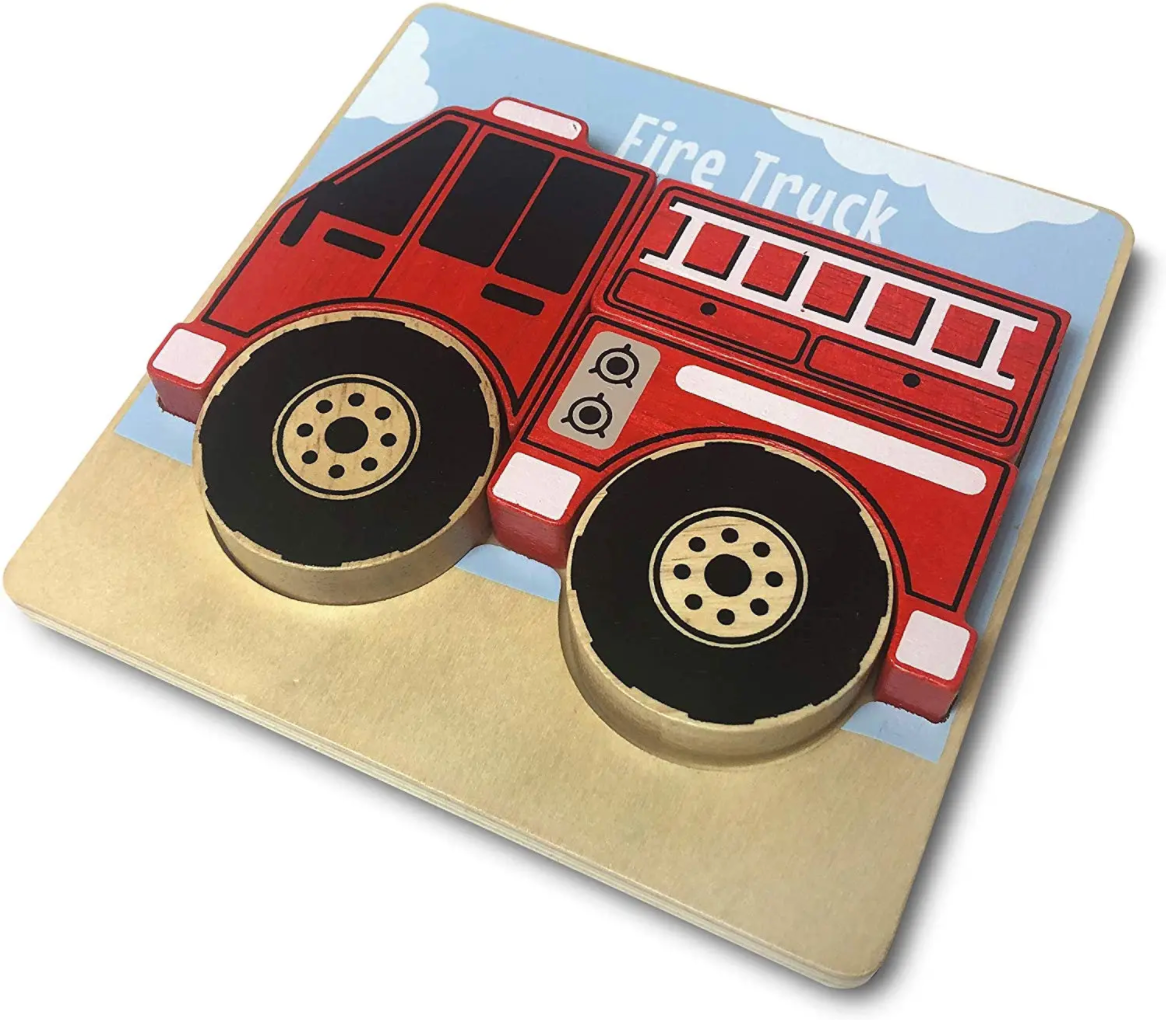 Begin Again Fire Truck Puzzle