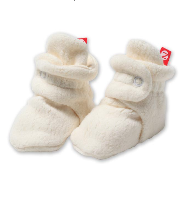 Zutano Cozie Fleece Bootie - Cream