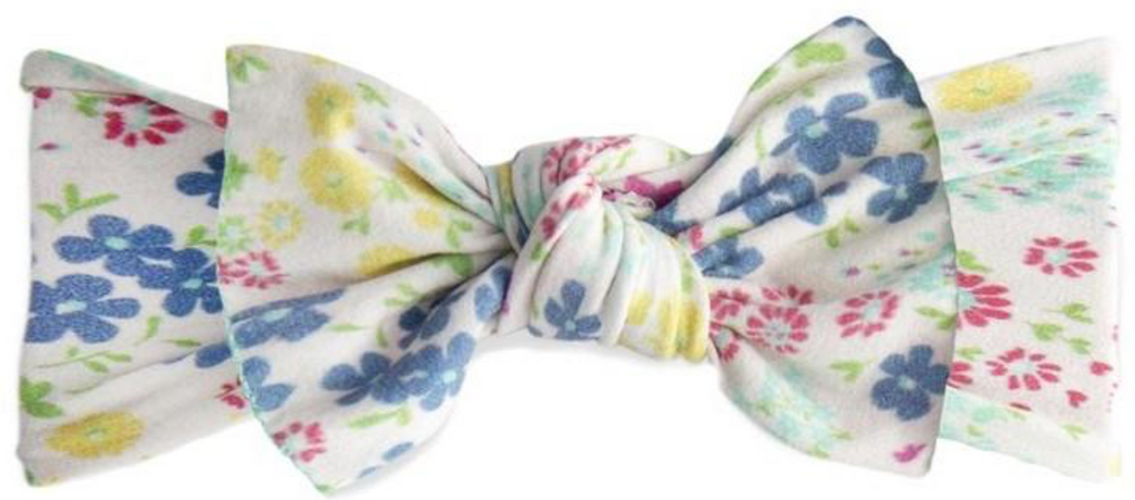 Baby Bling Printed Knot - Tiny Spring