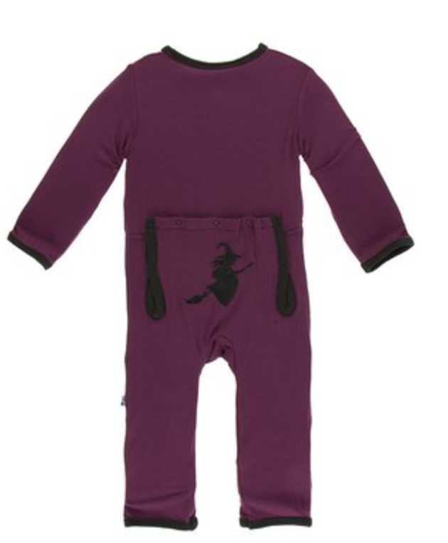 KicKee Pants Wine Grapes Witch Coverall