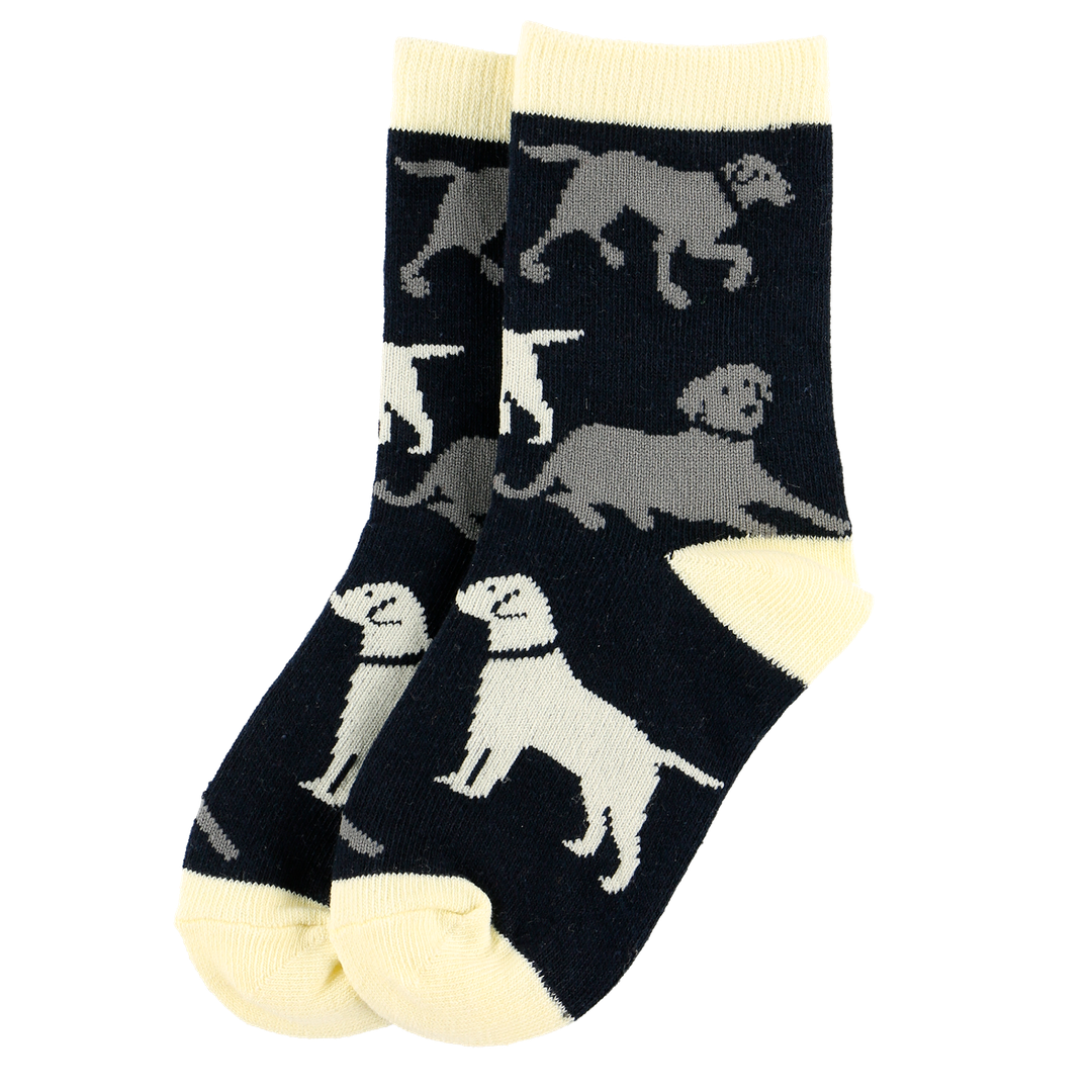 Lazy One Kid Sock - Labs