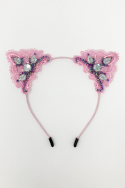 Pink Power Cat Ears