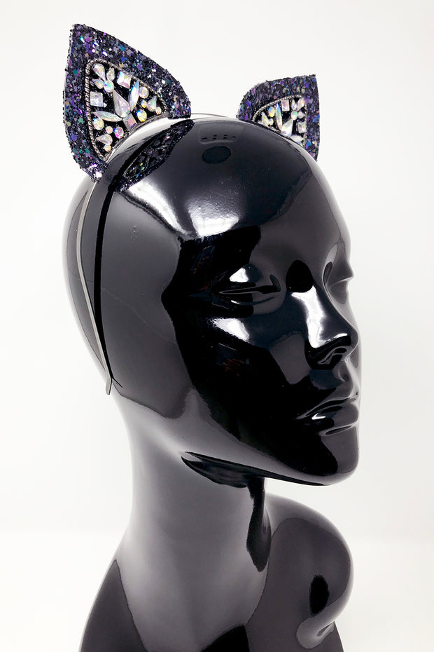 Glitter Mixer Cat Ears