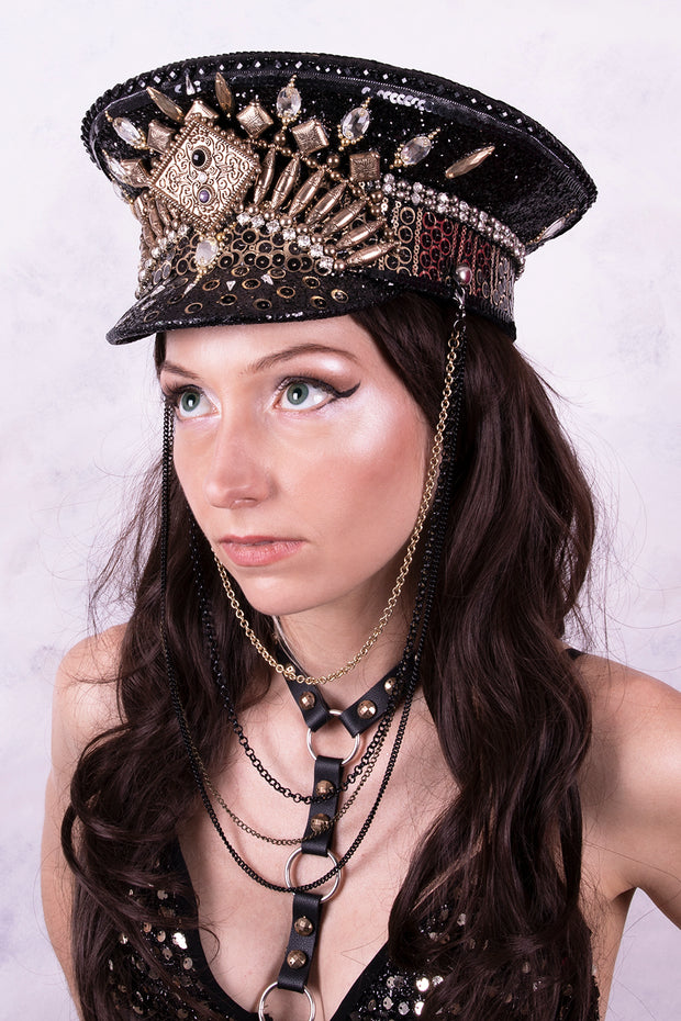 Gladiator Goddess Captain Hat