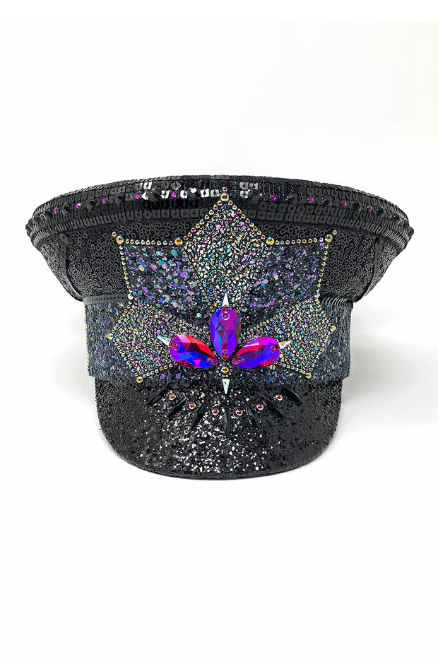 Midnight Magic Captain Hat