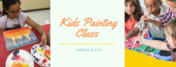 Painting Class for Kids with Tatiana Cast