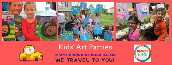 Painting Parties with Canvas Fiesta