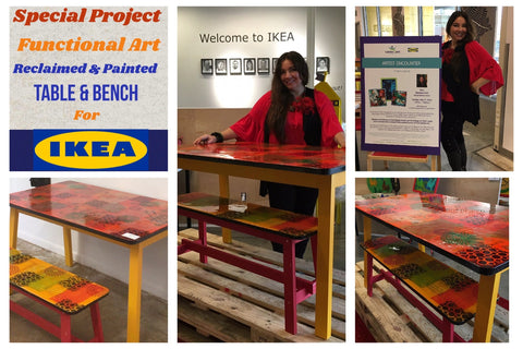 Artist Tatiana Cast and IKEA Art Program