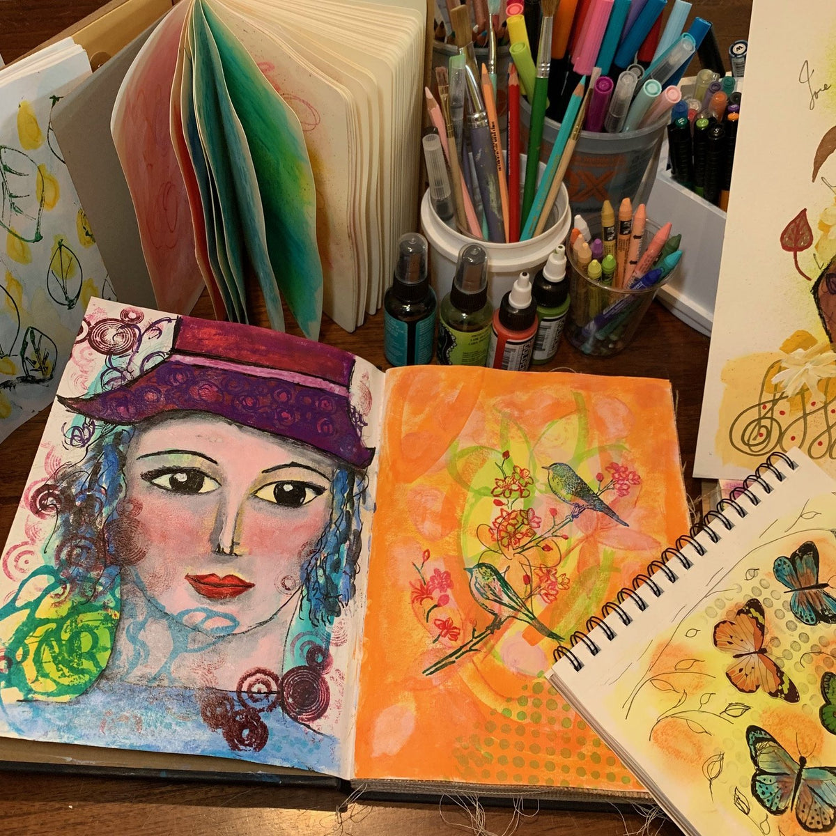 Art Journaling-October12-Davie FL