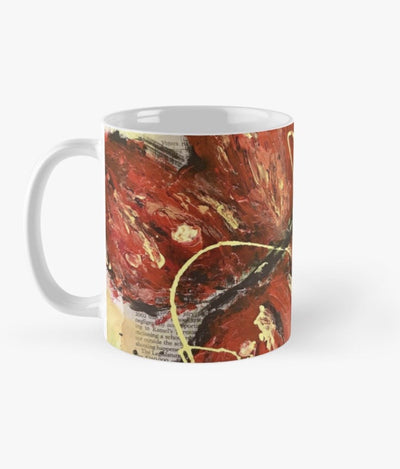 Red Butterfly Mug
