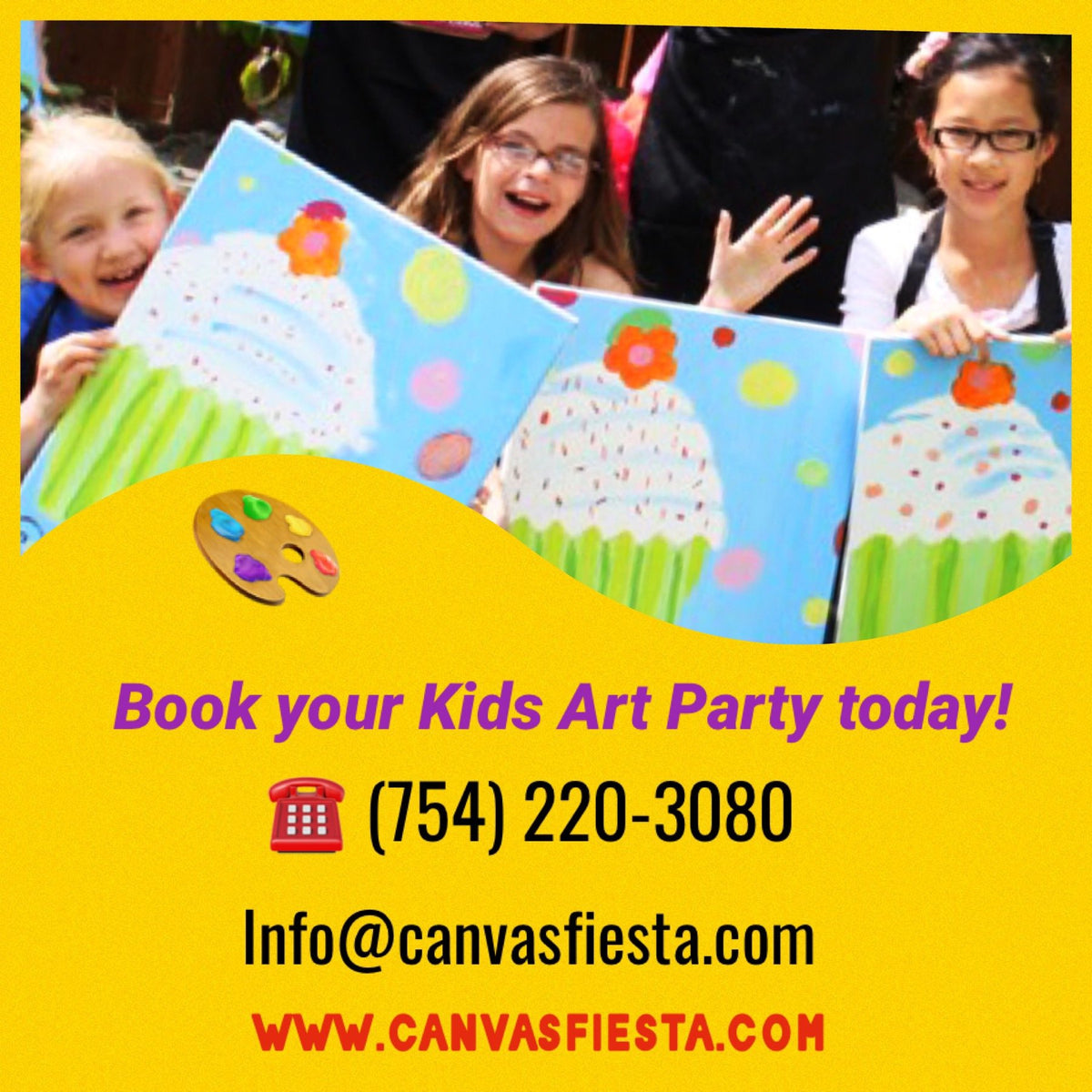 Your Kid's Private Art Party!