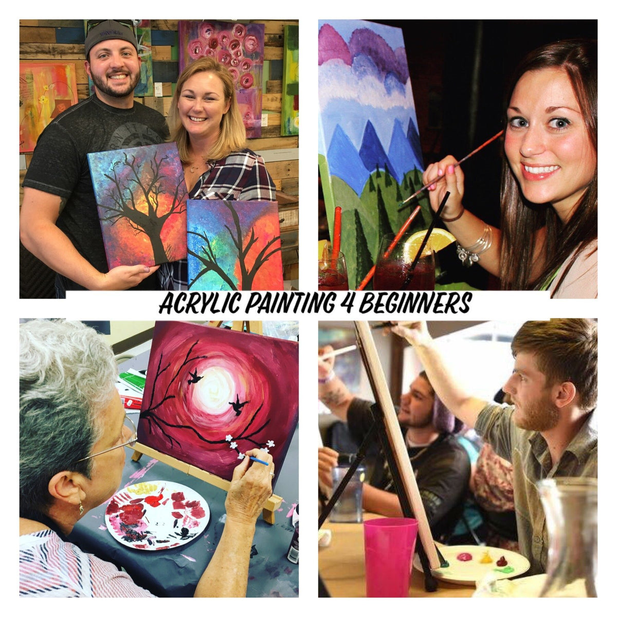 Beginners Painting-September-14-Davie FL