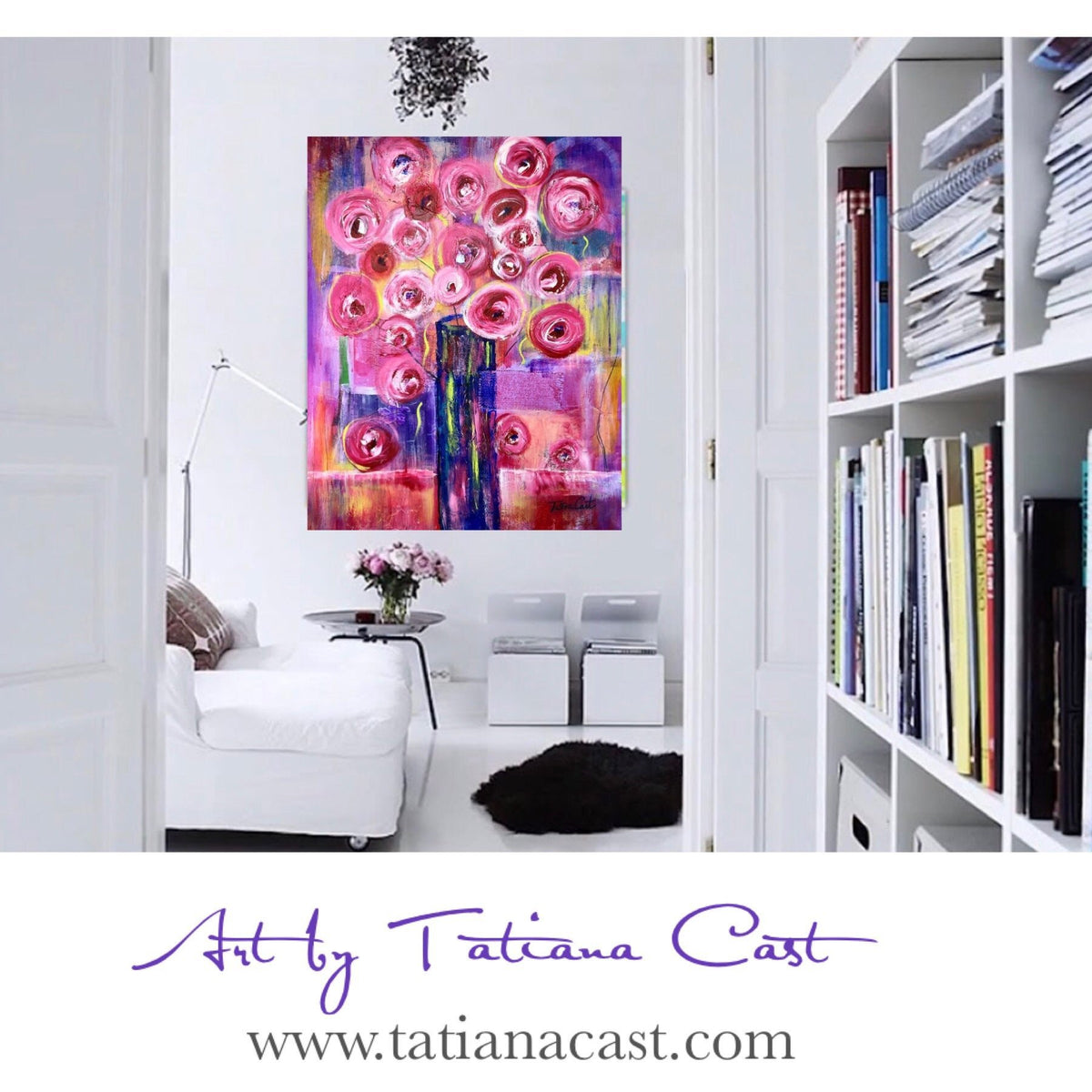 Magnificent! Pink Blossoms-Limited Edition in Aluminum
