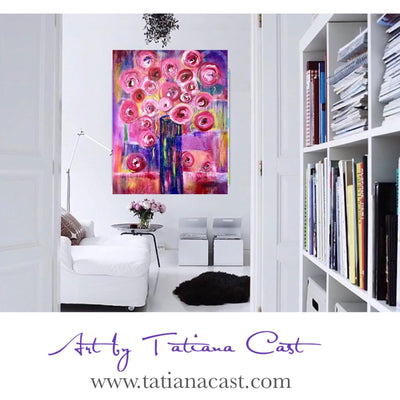 Magnificent! Pink Blossoms-Limited Edition - TatianaCast